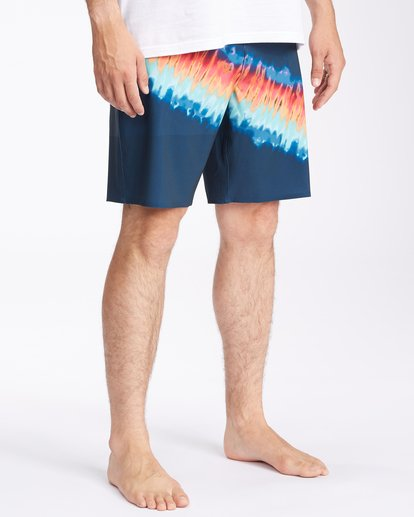 """4 T Street Airlite Boardshorts 19"""" Blue ABYBS00103 Billabong"""