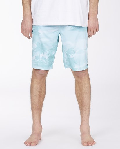 """2 All Day Pro Boardshort 20"""" Blue ABYBS00109 Billabong"""