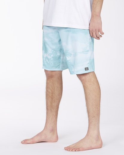 """3 All Day Pro Boardshort 20"""" Blue ABYBS00109 Billabong"""