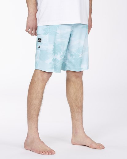 "4 All Day Pro Boardshorts 20"" Blue ABYBS00109 Billabong"