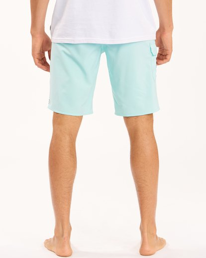 """7 All Day Pro Boardshorts 20"""" Blue ABYBS00109 Billabong"""
