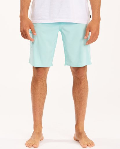 """4 All Day Pro Boardshorts 20"""" Blue ABYBS00109 Billabong"""
