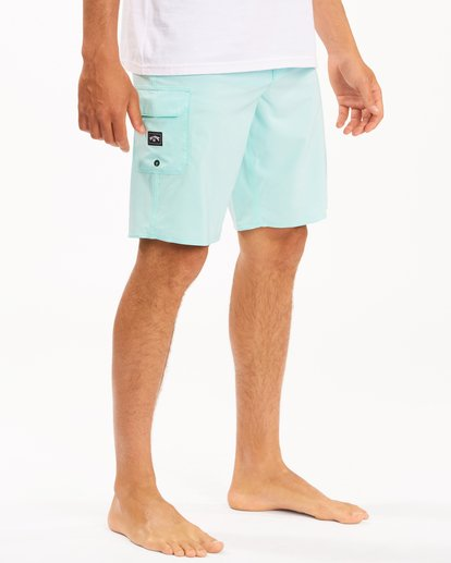 """6 All Day Pro Boardshorts 20"""" Blue ABYBS00109 Billabong"""