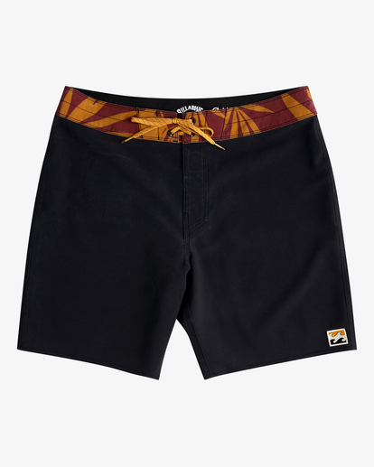"""0 All Day Pigment Pro Boardshorts 17"""" Black ABYBS00110 Billabong"""