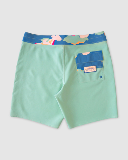 """1 All Day Pigment Pro Boardshorts 17"""" Green ABYBS00110 Billabong"""