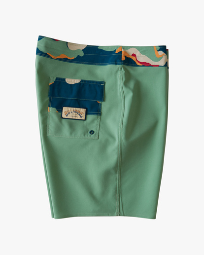 """2 All Day Pigment Pro Boardshorts 17"""" Green ABYBS00110 Billabong"""