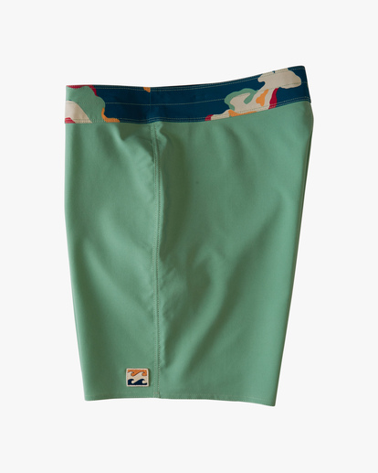 """3 All Day Pigment Pro Boardshorts 17"""" Green ABYBS00110 Billabong"""
