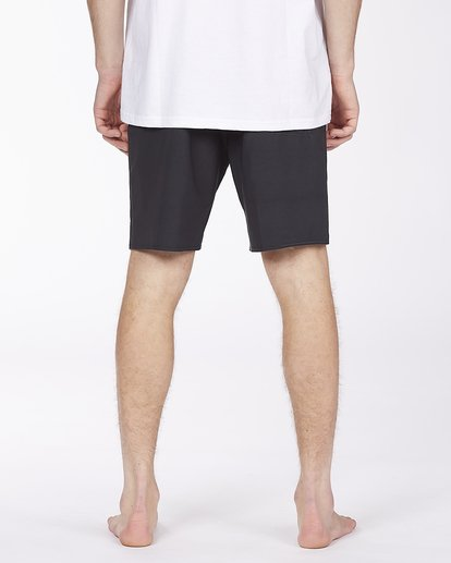 """5 All Day Pigment Pro Boardshorts 17"""" Black ABYBS00110 Billabong"""