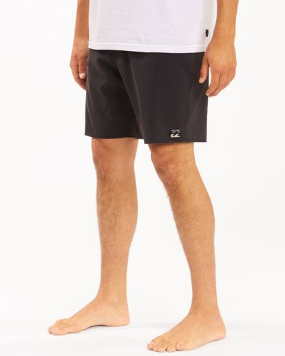 """5 All Day Pigment Pro Boardshorts 17"""" Blue ABYBS00110 Billabong"""