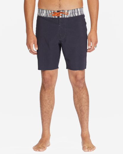 """4 All Day Pigment Pro Boardshorts 17"""" Multicolor ABYBS00110 Billabong"""