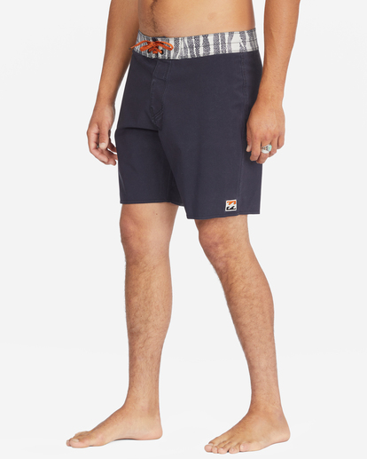 """5 All Day Pigment Pro Boardshorts 17"""" Multicolor ABYBS00110 Billabong"""
