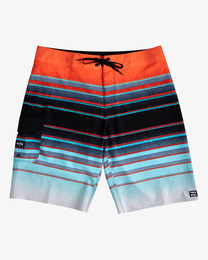 "0 All Day Stripe Pro Boardshorts 21"" Blue ABYBS00111 Billabong"