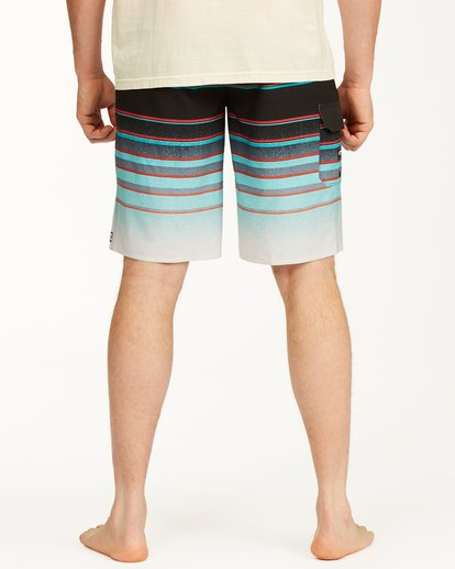 "5 All Day Stripe Pro Boardshorts 21"" Blue ABYBS00111 Billabong"