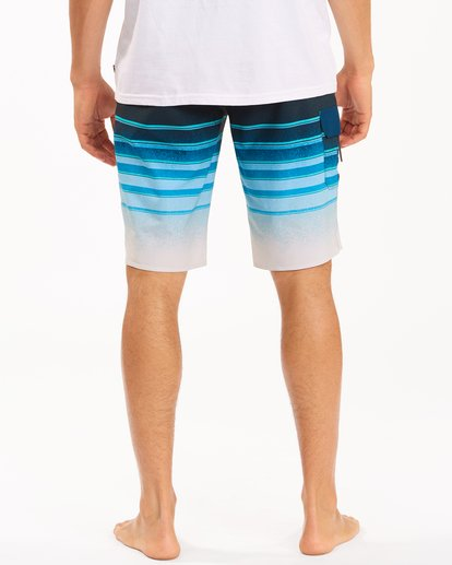"5 All Day Stripe Pro Boardshorts 21"" Blue ABYBS00111 Billabong"