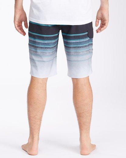 "5 All Day Stripe Pro Boardshorts 21"" Grey ABYBS00111 Billabong"