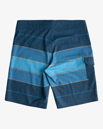 """1 All Day Heather Stripe Pro Boardshorts 20"""" Blue ABYBS00112 Billabong"""