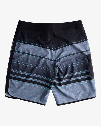 "1 73 Stripe Pro Boardshorts 20"" Black ABYBS00115 Billabong"