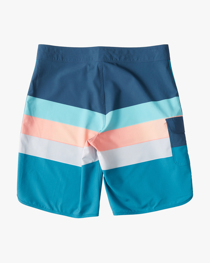 "1 73 Stripe Pro Boardshorts 20"" Blue ABYBS00115 Billabong"