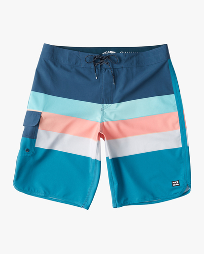"0 73 Stripe Pro Boardshorts 20"" Blue ABYBS00115 Billabong"