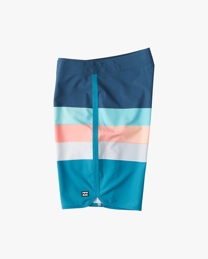 "2 73 Stripe Pro Boardshorts 20"" Blue ABYBS00115 Billabong"