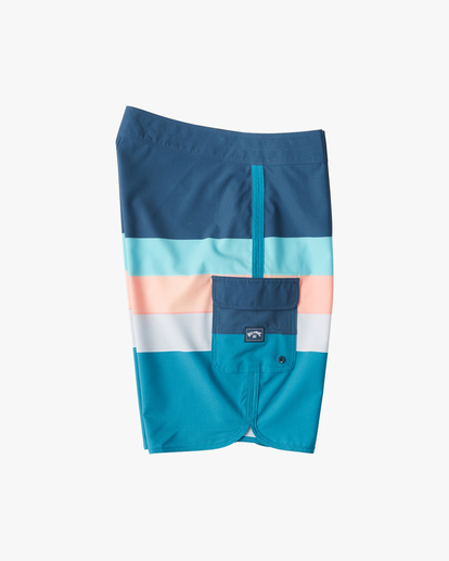 "3 73 Stripe Pro Boardshorts 20"" Blue ABYBS00115 Billabong"