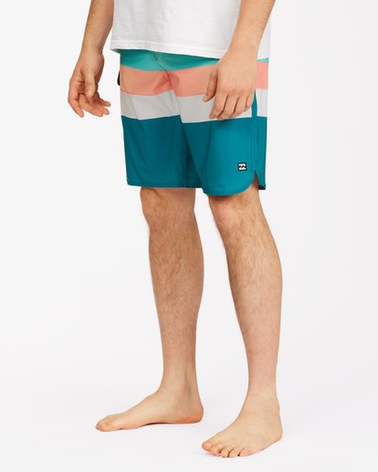 "5 73 Stripe Pro Boardshorts 20"" Blue ABYBS00115 Billabong"