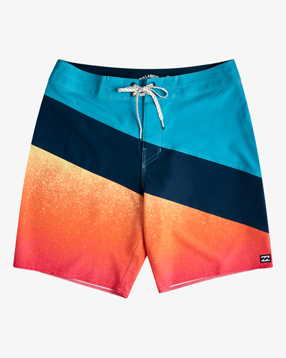 """0 T Street Pro Boardshorts 19"""" Red ABYBS00117 Billabong"""