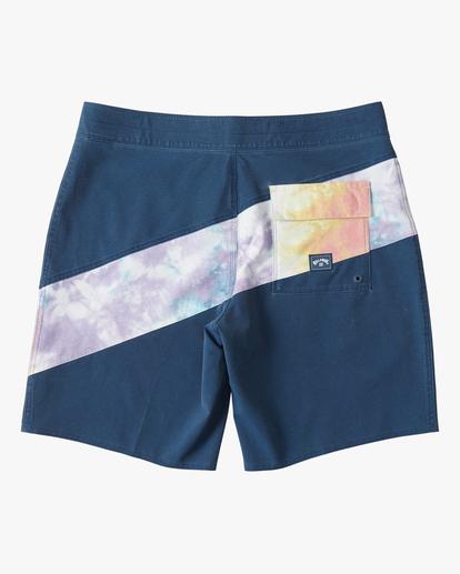 "1 T Street Pro Boardshorts 19"" Blue ABYBS00117 Billabong"