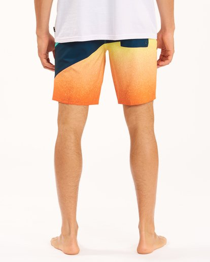 """5 T Street Pro Boardshorts 19"""" Red ABYBS00117 Billabong"""