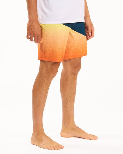 """4 T Street Pro Boardshorts 19"""" Red ABYBS00117 Billabong"""