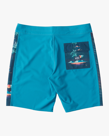 "1 D Bah Pro Boardshorts 19"" Blue ABYBS00120 Billabong"
