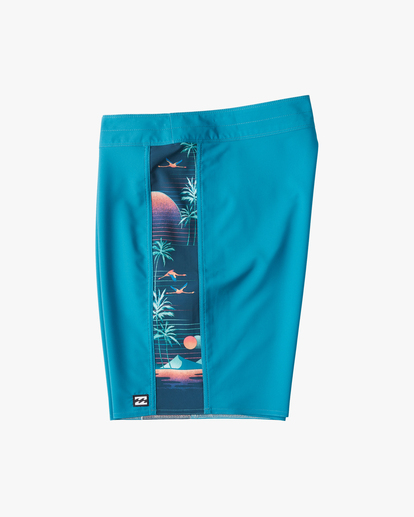 "2 D Bah Pro Boardshorts 19"" Blue ABYBS00120 Billabong"