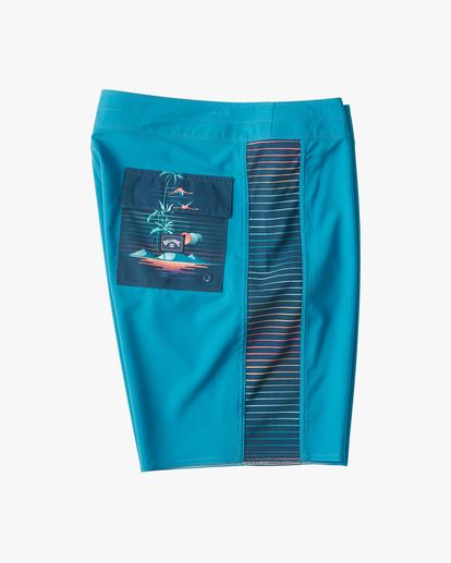 "3 D Bah Pro Boardshorts 19"" Blue ABYBS00120 Billabong"