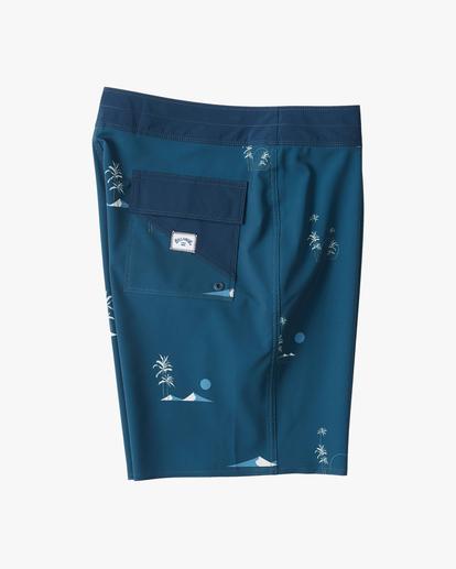 "3 Sundays Mini Pro Boardshorts 19"" Blue ABYBS00121 Billabong"