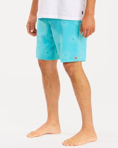 "5 Sundays Mini Pro Boardshorts 19"" Blue ABYBS00121 Billabong"