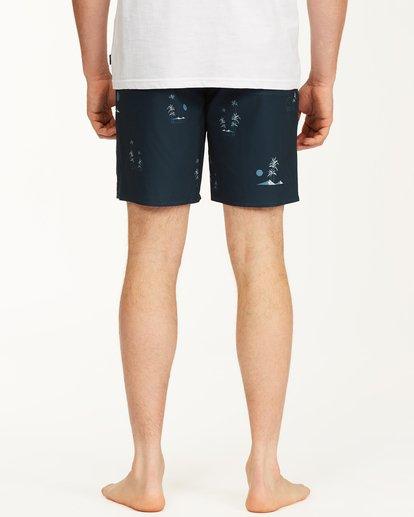 "7 Sundays Mini Pro Boardshorts 19"" Blue ABYBS00121 Billabong"