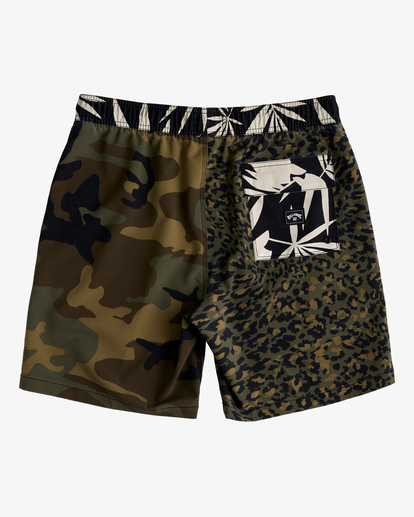 "1 Sundays Layback Boardshorts 17"" Black ABYBS00123 Billabong"
