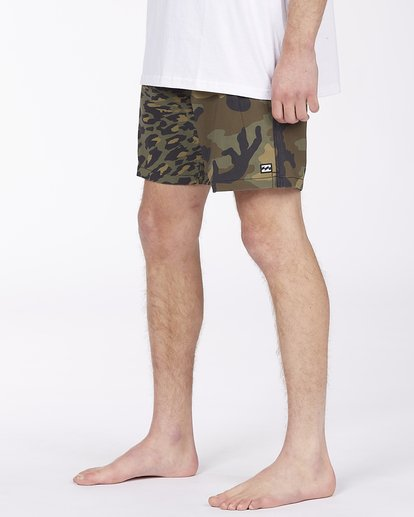"3 Sundays Layback Boardshorts 17"" Black ABYBS00123 Billabong"