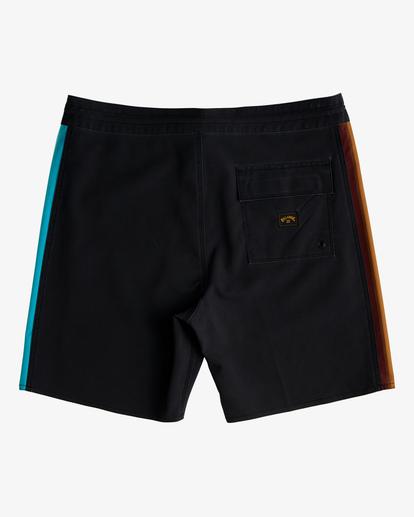 """1 D Bah Lo Tide Boardshorts 17"""" Black ABYBS00126 Billabong"""