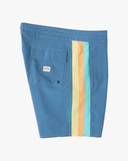 "2 D Bah Lo Tides Boardshorts 17"" Multicolor ABYBS00126 Billabong"