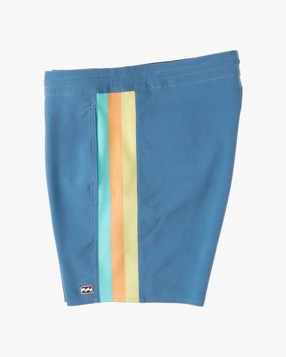 "3 D Bah Lo Tides Boardshorts 17"" Multicolor ABYBS00126 Billabong"