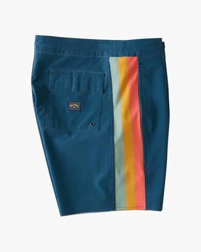 "2 D Bah Lo Tides Boardshorts 17"" Blue ABYBS00126 Billabong"