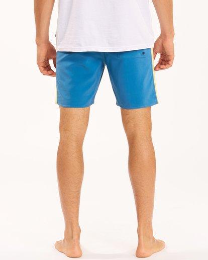 "7 D Bah Lo Tides Boardshorts 17"" Multicolor ABYBS00126 Billabong"