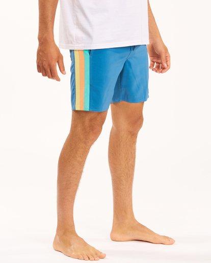 "6 D Bah Lo Tides Boardshorts 17"" Multicolor ABYBS00126 Billabong"