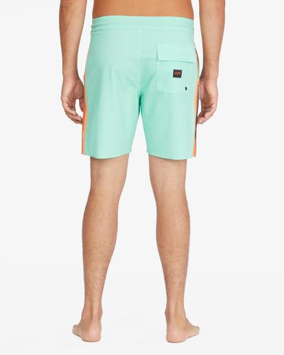 """6 D Bah Lo Tides Boardshorts 17"""" Grey ABYBS00126 Billabong"""