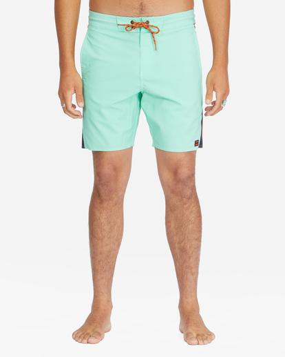 """4 D Bah Lo Tides Boardshorts 17"""" Grey ABYBS00126 Billabong"""