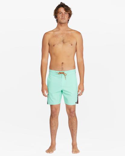 """8 D Bah Lo Tides Boardshorts 17"""" Grey ABYBS00126 Billabong"""