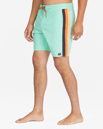"""5 D Bah Lo Tides Boardshorts 17"""" Grey ABYBS00126 Billabong"""
