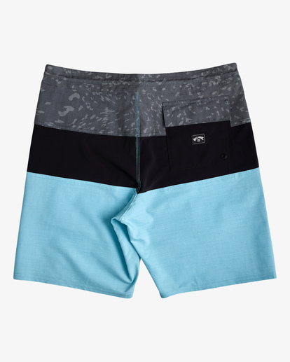 "1 Tribong Lo Tide Boardshorts 19"" Blue ABYBS00127 Billabong"