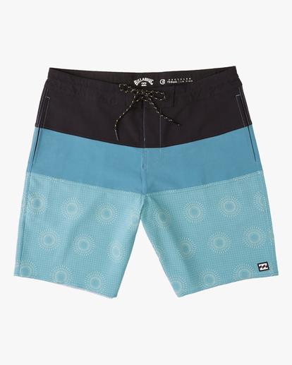 "0 Tribong Lo Tides Boardshorts 19"" Orange ABYBS00127 Billabong"